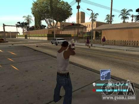 C-HUD OREAN for GTA San Andreas second screenshot