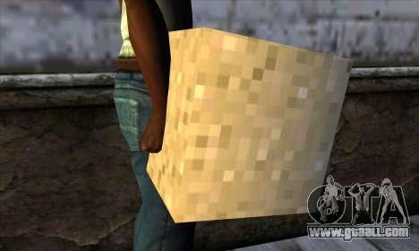 Block (Minecraft) v6 for GTA San Andreas third screenshot