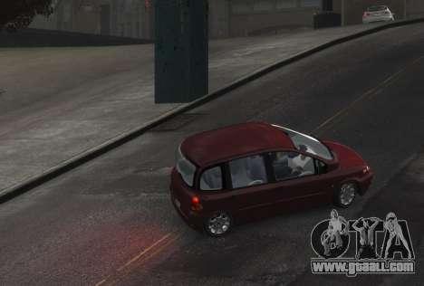 Fiat Multipla for GTA 4 back left view