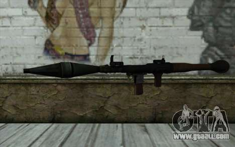 New Rocket Launcher for GTA San Andreas