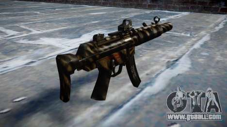 Gun MP5SD DRS CS c target for GTA 4 second screenshot