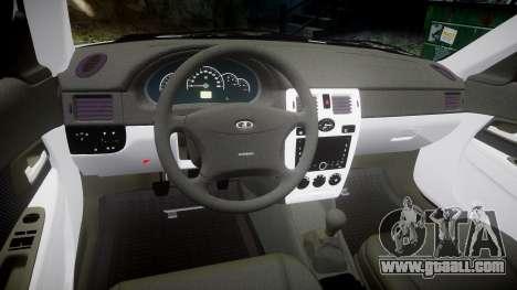 ВАЗ-2170 high quality for GTA 4 inner view