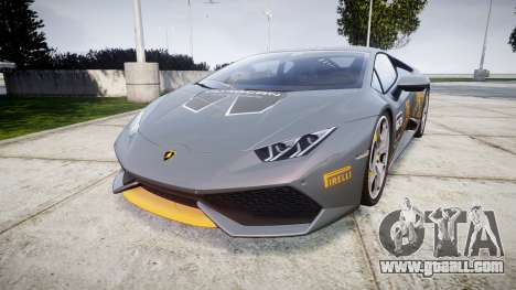 Lamborghini Huracan LP 610-4 2015 Blancpain for GTA 4
