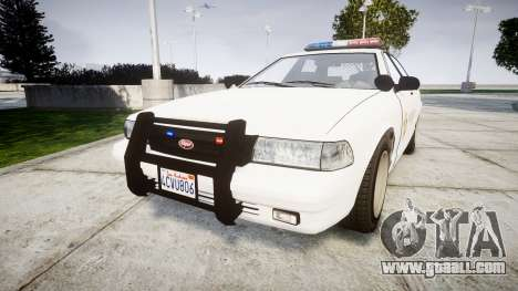 GTA V Vapid Police Cruiser Rotor [ELS] for GTA 4