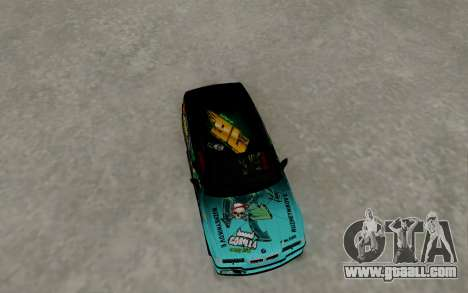 BMW M3 E36 Gorilla Energy Team for GTA San Andreas right view