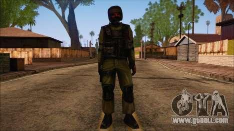 Urban from Counter Strike Condition Zero for GTA San Andreas