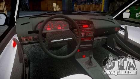 VAZ-2114 London for GTA 4 back view