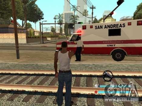 C-HUD OREAN for GTA San Andreas third screenshot