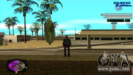 C-HUD Respect for GTA San Andreas