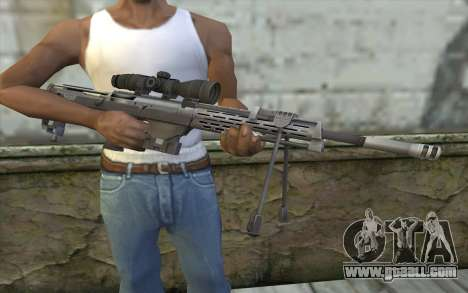Sniper Rifle from Sniper Ghost Warrior for GTA San Andreas third screenshot