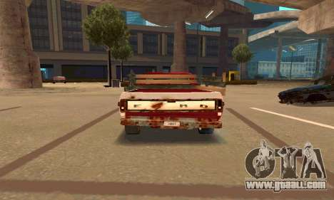 Ford PickUp Rusted for GTA San Andreas right view