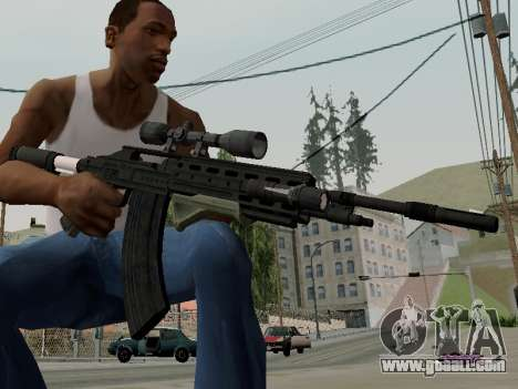 Heavy Sniper Rifle from GTA V for GTA San Andreas second screenshot