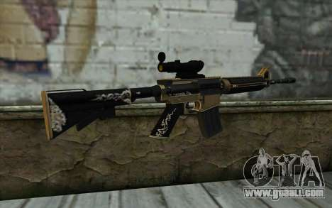 M4A1 from PointBlank for GTA San Andreas second screenshot