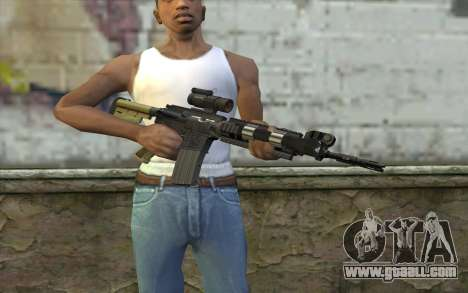 M4 MGS Iron Sight v2 for GTA San Andreas third screenshot