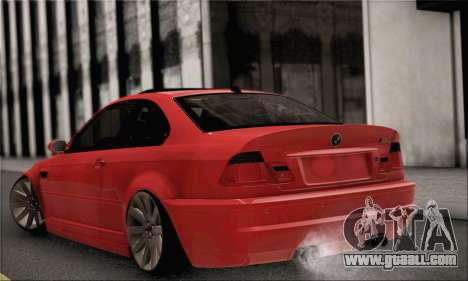 BMW M3 Coupe Tuned for GTA San Andreas left view