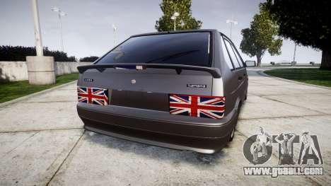 VAZ-2114 London for GTA 4 back left view