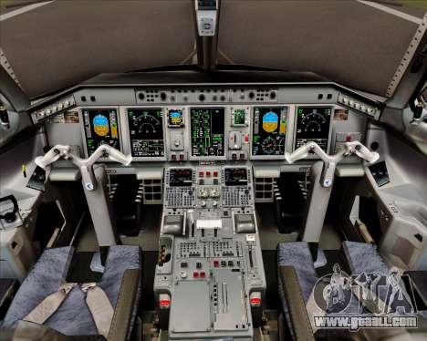 Embraer E-190 Air Canada for GTA San Andreas interior