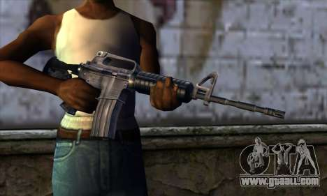 M4 from Far Cry for GTA San Andreas third screenshot