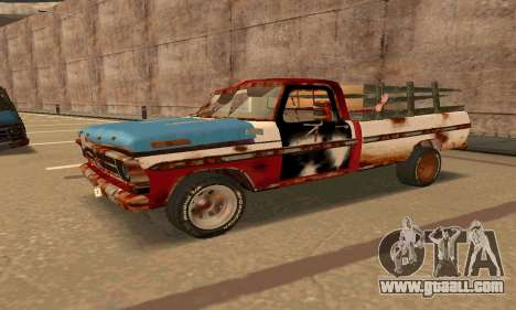 Ford PickUp Rusted for GTA San Andreas