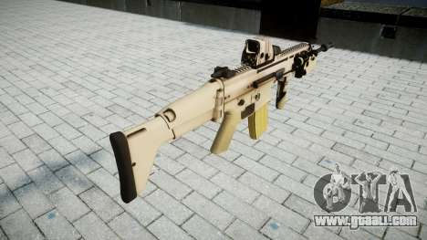 Machine FN SCAR-L Mk 16 target icon2 for GTA 4 second screenshot