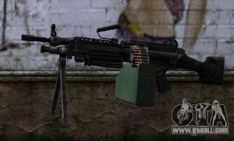 M249 v2 for GTA San Andreas