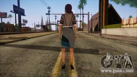 Modern Woman Skin 8 for GTA San Andreas second screenshot