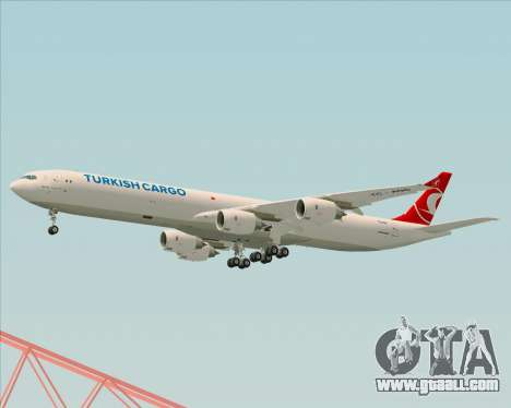Airbus A340-600 Turkish Cargo for GTA San Andreas right view