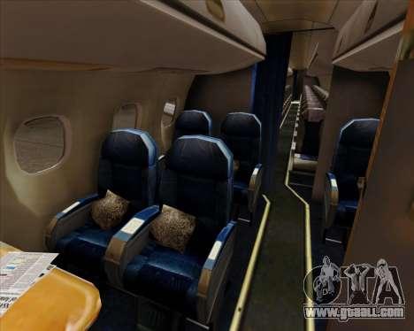 Embraer E-190 Air Canada for GTA San Andreas wheels