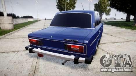 VAZ-2106 on the pneuma for GTA 4 back left view