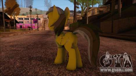 Daring Doo from My Little Pony for GTA San Andreas second screenshot