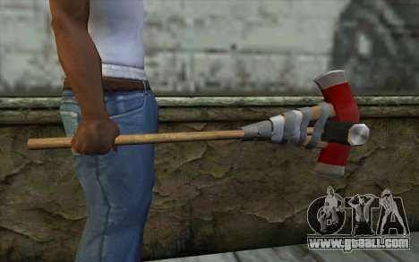 Defiler From Dead Rising 2 for GTA San Andreas third screenshot