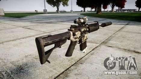 Machine P416 ACOG silencer PJ1 for GTA 4 second screenshot