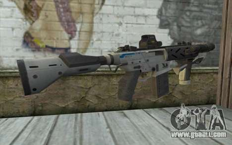 Peacekeeper from Call of Duty Black Ops II for GTA San Andreas second screenshot