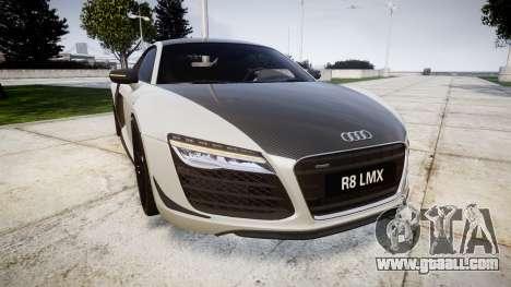 Audi R8 LMX 2015 [EPM] Carbon Series for GTA 4
