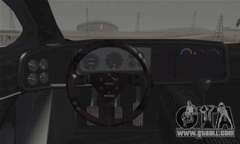 Jaguar XJ220S Ultimate Edition for GTA San Andreas back left view