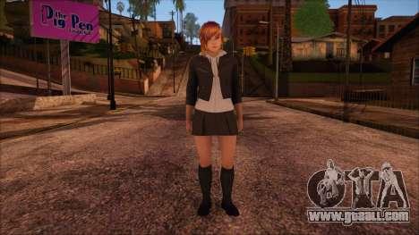 Modern Woman Skin 2 v2 for GTA San Andreas