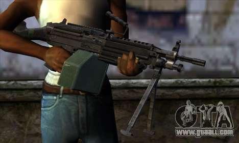 M249 v2 for GTA San Andreas third screenshot