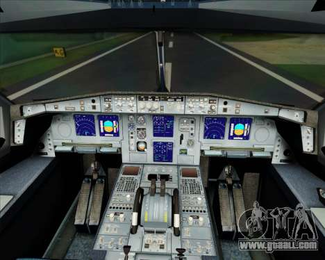 Airbus A340-300 Finnair (Oneworld Livery) for GTA San Andreas interior
