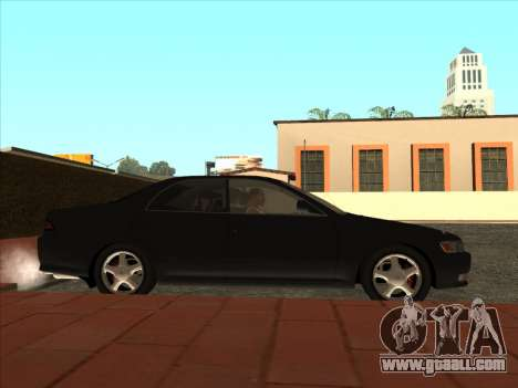 Toyota Mark II Consular for GTA San Andreas back left view