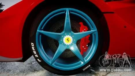 Ferrari LaFerrari 2014 [EPM] for GTA 4 back view
