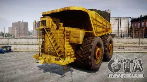 Mining Truck for GTA 4