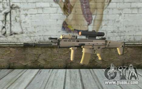 MK16 MK4CQ-T for GTA San Andreas