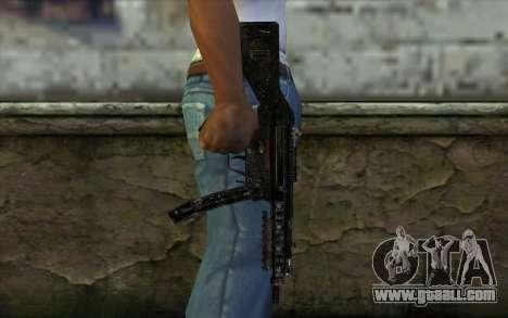 MP5 for GTA San Andreas third screenshot