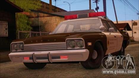 Dodge Monaco RCSD 1974 (HQLM) for GTA San Andreas