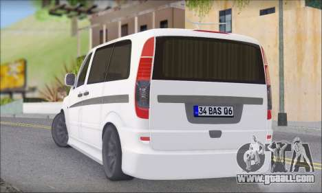 Mercedes-Benz Vito Vip for GTA San Andreas left view