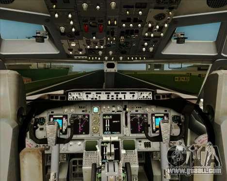 Boeing 737-800 WestJet Airlines for GTA San Andreas interior