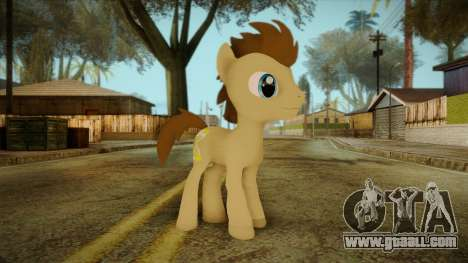 Doctor Whooves from My Little Pony for GTA San Andreas