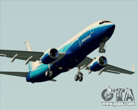 Boeing 737-800 House Colors for GTA San Andreas engine