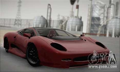 Jaguar XJ220S Ultimate Edition for GTA San Andreas