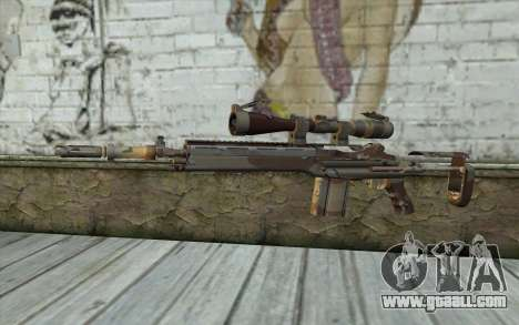 M14 EBR Chipdesert for GTA San Andreas